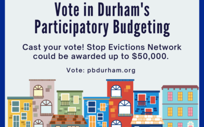 Vote for us in Durham's Partipatory Budgeting Cycle!
